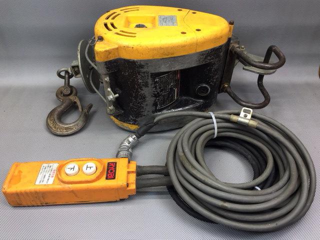 リョービ RYOBI  130Kg電動ウインチ買取しました!