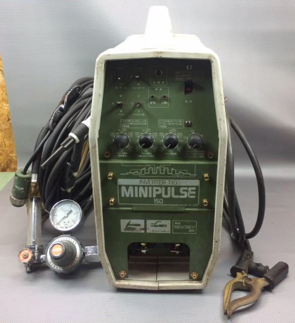 ダイヘン DAIHEN TIG溶接機 アルゴンガス溶接 MINI PULSE 150  100/200V兼用買取しました!