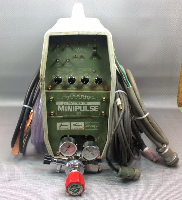 ダイヘン DAIHEN DAIHEN TIG溶接機 アルゴンガス溶接 MINI PULSE 150  単相200Vのみ買取しました!