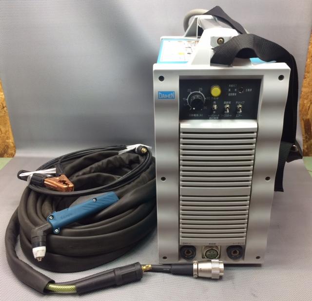 ダイヘン DAIHEN 35A エアープラズマ切断機 コンプレッサー内蔵/外部接続可能買取しました!