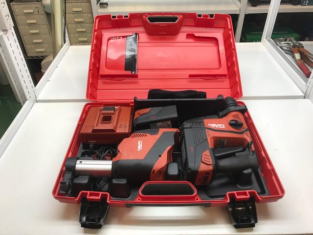 HILTI 充電式ロータリーハンマー買取しました!