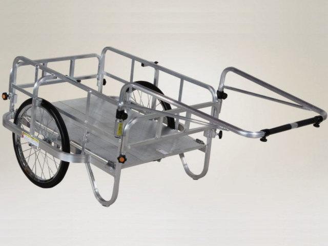 ハラックス HARAX  アルミ製 折り畳み式リヤカー 最大積載荷重180kg買取しました!