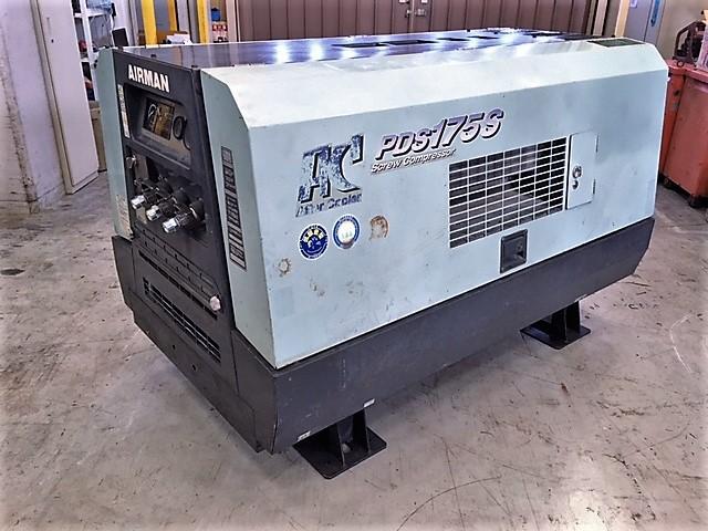北越工業 エアマン  エンジンコンプレッサー PDS175SC