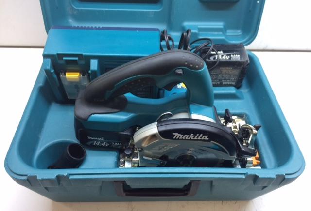 マキタ makita  14.4V 3.0Ah 125mm充電式丸ノコ バッテリー2個付き買取しました!