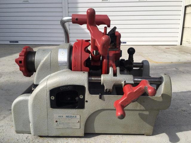レッキス REX  1インチパイプマシン ねじ切り機 pipe threading machine買取しました!