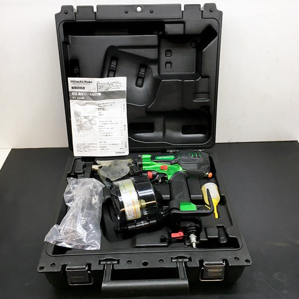日立 HITACHI 日立 HITACHI 65mm高圧エア釘打ち機 NV65HR(SL)買取しました!