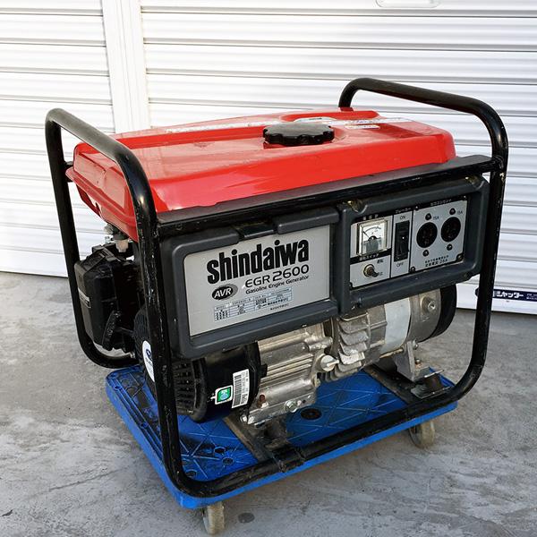 新ダイワ shindaiwa やまびこ エンジン発電機 Generator買取しました!