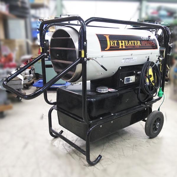 オリオン ORION  ジェットヒーター 業務用 可搬式温風機 単相100V買取しました!