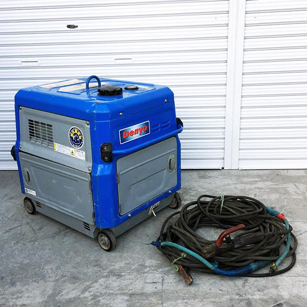 DENYO デンヨー ガソリンエンジン溶接機 エンジンウェルダー買取しました!