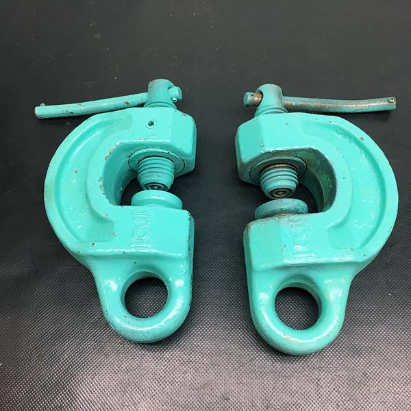 イーグルクランプ イーグルクランプ 2t ねじ式全方向クランプ 5〜30mm 2個セット�@ SBN-2