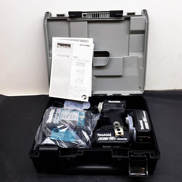 マキタ makita 18V充電式インパクトドライバ 6.0Ah 最新型 ブラック買取しました!