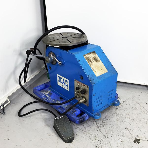 マツモト機械 MAC 小型ポジショナー 溶接用回転台買取しました!