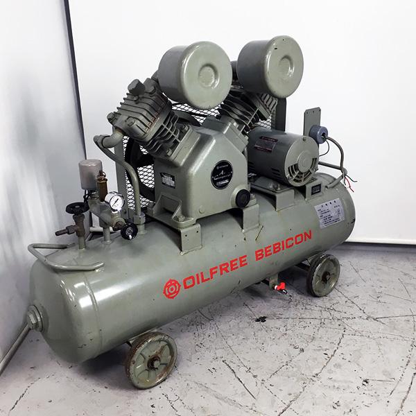 日立 HITACHI 2馬力オイルフリーエアーコンプレッサー ベビコン 60Hz買取しました!