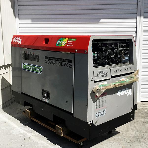 新ダイワ shindaiwa やまびこ ディーゼルエンジンウェルダー エンジン溶接機 Welder Generator買取しました!