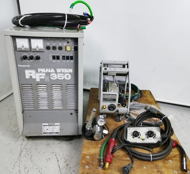 パナソニック Panasonic  350A CO2 MAG半自動溶接機買取しました!