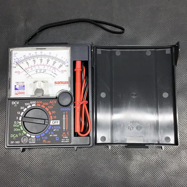 三和電気計器 Sanwa アナログマルチテスター買取しました!