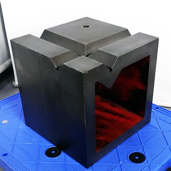 200mm V溝付桝型ブロック買取しました!
