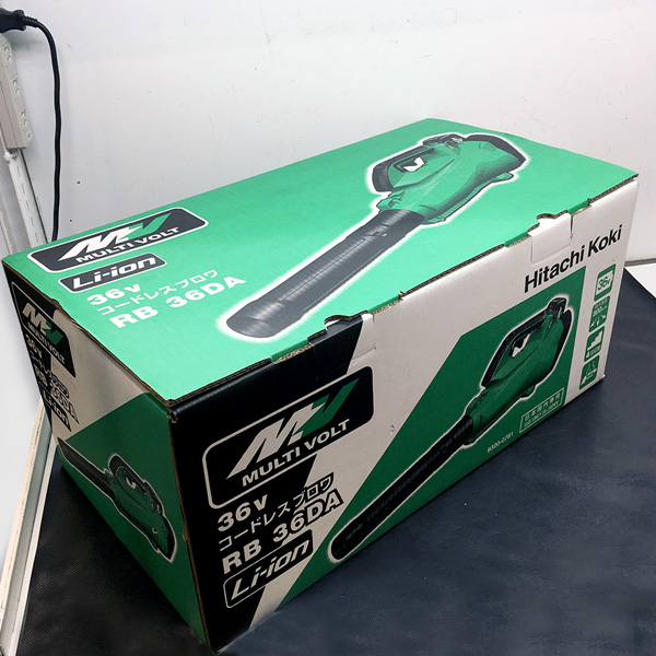 日立 HITACHI マルチボルト(36V)コードレスブロワ 買取しました!