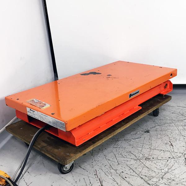 ビシャモン スギヤス 500kg揚げテーブルリフト 三相200V買取しました!