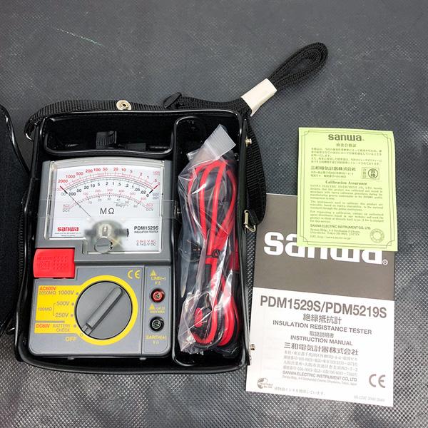 三和電気 Sanwa 絶縁抵抗計買取しました!