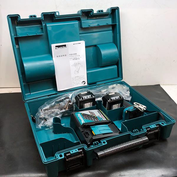マキタ makita 18V 6.0Ah 充電式 震動ドライバドリル買取しました!