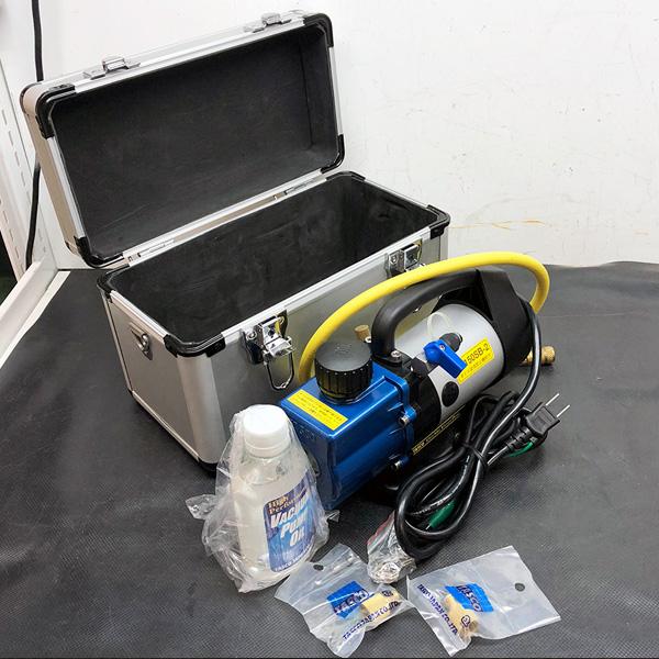 タスコ TASCO オイル逆流防止弁付ウルトラミニツーステージ真空ポンプ買取しました!