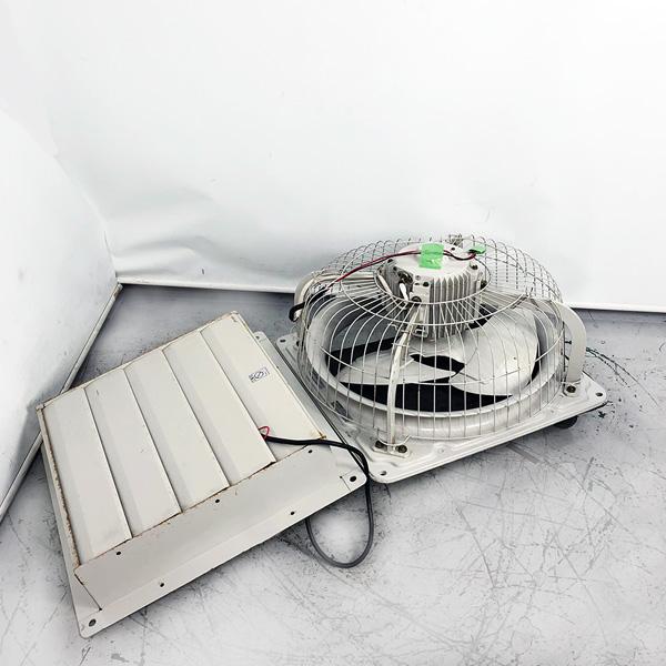 三菱 MITSUBISHI 有圧換気扇 電動式シャッターセット EF-50FTB-H/PS-50SMT
