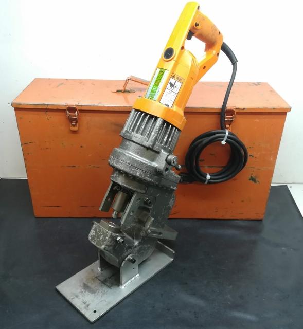 株式会社IKK  DIAMOND  石原機械工業株式会社  電動油圧パンチャー ミニパンチャームサシ H形鋼パンチャー買取しました!