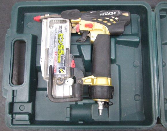 日立 HITACHI 55mm高圧ピンネイラ ピン釘打機買取しました!