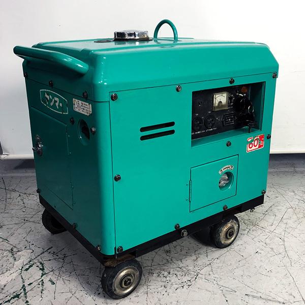 ヤンマー YANMAR  2.4KVA防音型発電機買取しました!