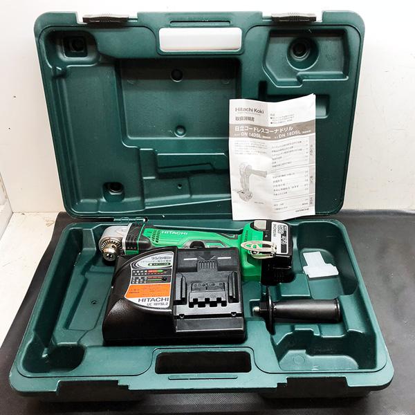 日立 HITACHI 14.4V 5.0Ah 充電式コードレスコーナードリル コーナドリル買取しました!