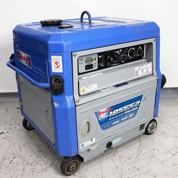 DENYO デンヨー 防音型エンジン発電機兼溶接機 エンジンウェルダー買取しました!