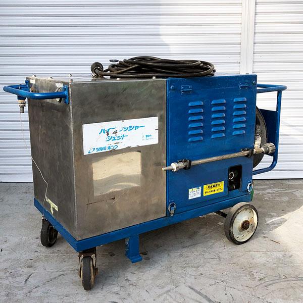 鶴見製作所 ツルミ 高圧洗浄機 ハイプレッシャー ジェットポンプ買取しました!
