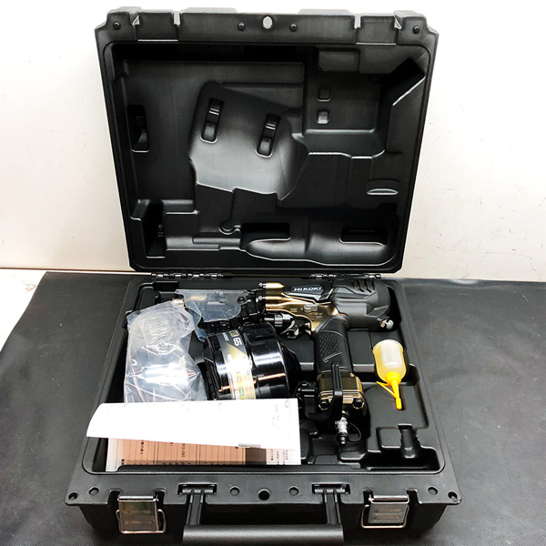 HiKOKI (日立工機)   65mm高圧ロール釘打機 買取しました!