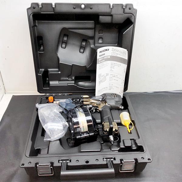 HiKOKI (日立工機)  50mm高圧ロール釘打機買取しました!