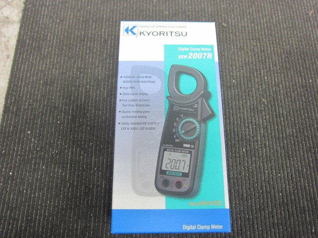 共立電気計器 KYORITSU  交流電流測定用クランプメーター デジタルクランプメーター AC Digital Clamp Meters 買取しました!