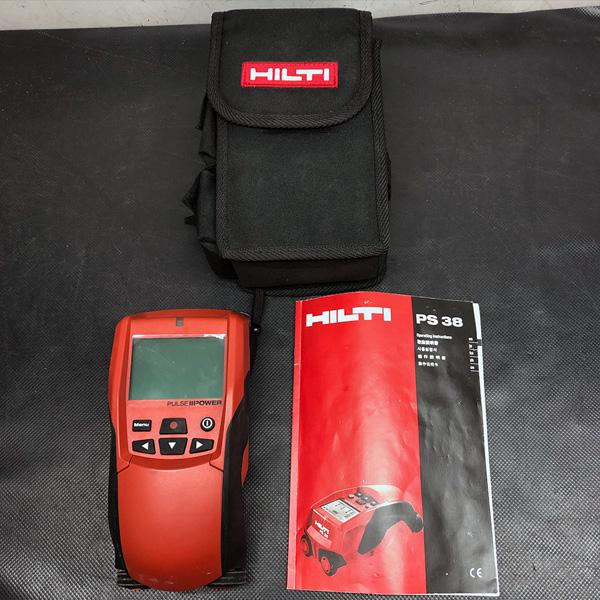 ヒルティ HILTI マルチ探知器買取しました!