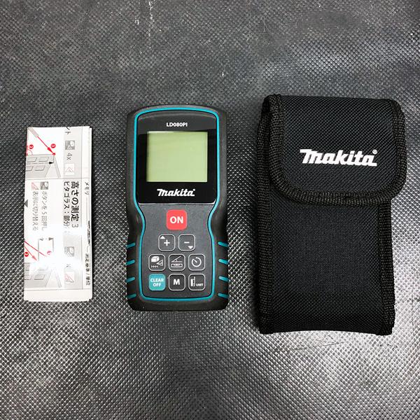 マキタ makita レーザー距離計 最大80m買取しました!