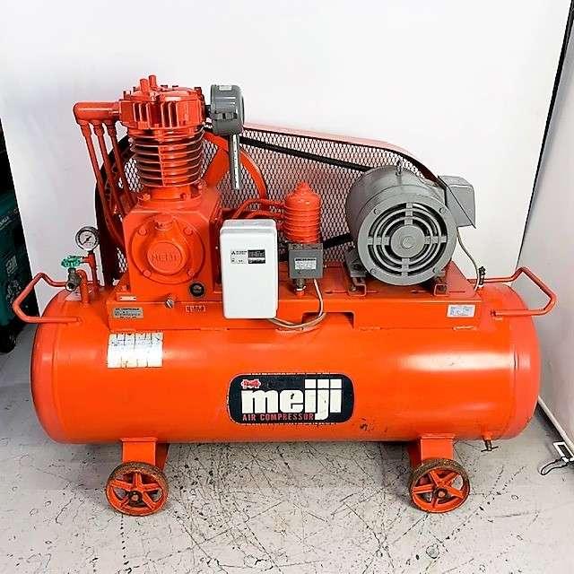 明治機械 meiji  7.5馬力エアコンプレッサー買取しました!