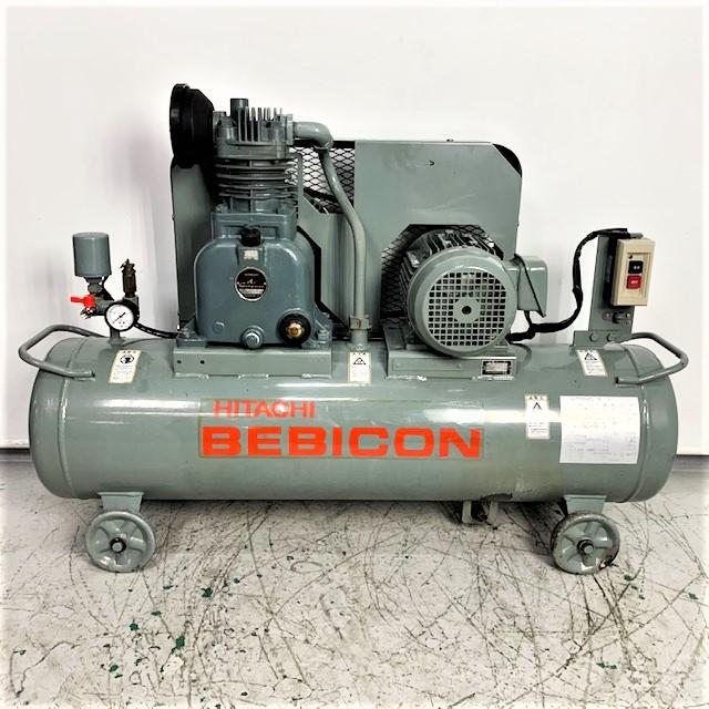 日立産機 HITACHI  2馬力給油式レシプロコンプレッサー ベビコン買取しました!