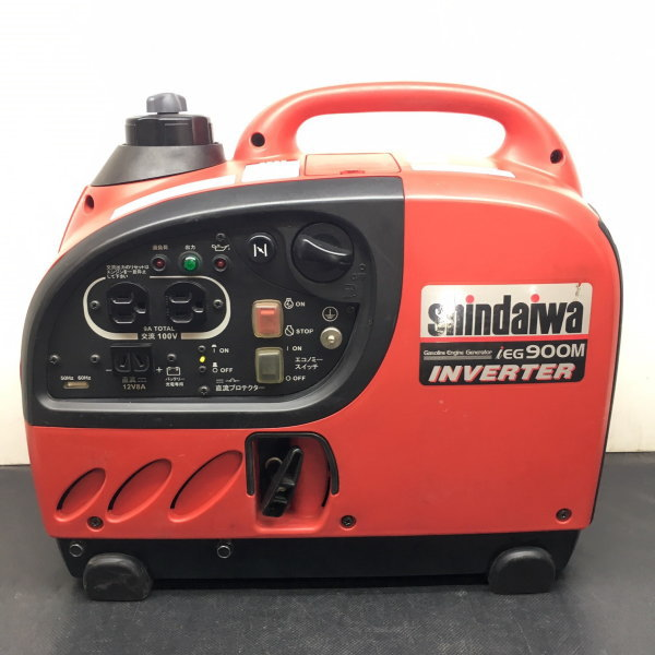 新ダイワ shindaiwa やまびこ  0.9kVA インバータ発電機 ガソリンエンジン  iEG900M-Y