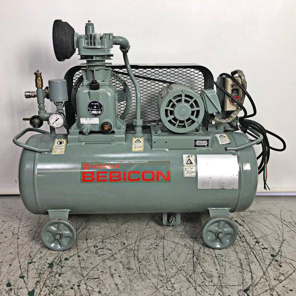 HITACHI/日立産機 1馬力レシプロコンプレッサー BEBICON/ベビコン買取しました!