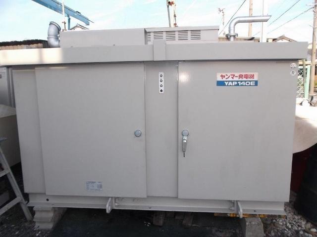 ヤンマー YANMAR 140kVA  112kW 非常用発電装置 インバータ発電機 商用電源 3相200V YAP140E