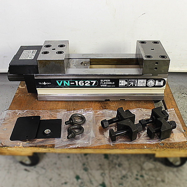 津田駒/TSUDAKOMA  口幅160mm メカ増力マシンバイス  VN-1627