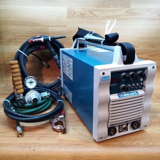 ダイヘン DAIHEN 200A直流TIG溶接機 100/200V兼用 インバータティグミニ 200PII インバータ制御式小形直流パルスTIG溶接機買取しました!