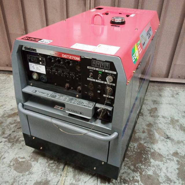 新ダイワ shindaiwa 270A 直流TIG 手溶接 ディーゼルエンジンウェルダー インバータ発電機買取しました!