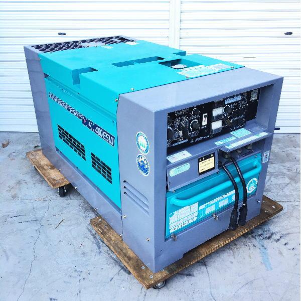 デンヨー DENYO  400A 2人同時 ディーゼルエンジン発電機兼用溶接機 エンジンウェルダー 買取しました!