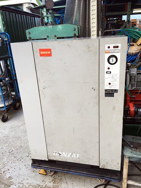 bin161130150136002 工場用コンプレッサーの買取