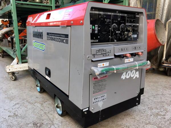 やまびこ ディーゼルエンジン溶接機兼用発電機 DGW400DMC