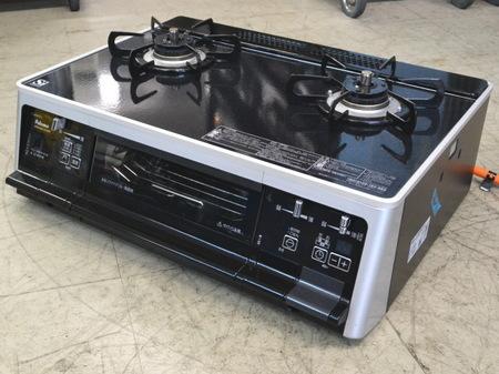 パロマ ガラストップガステーブル IC-66WCK